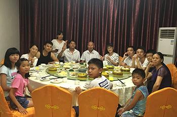 康弘欣欣团队聚餐