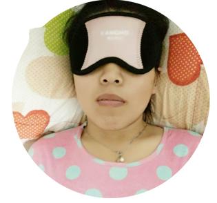 赵小姐使用光能波护眼仪的感受